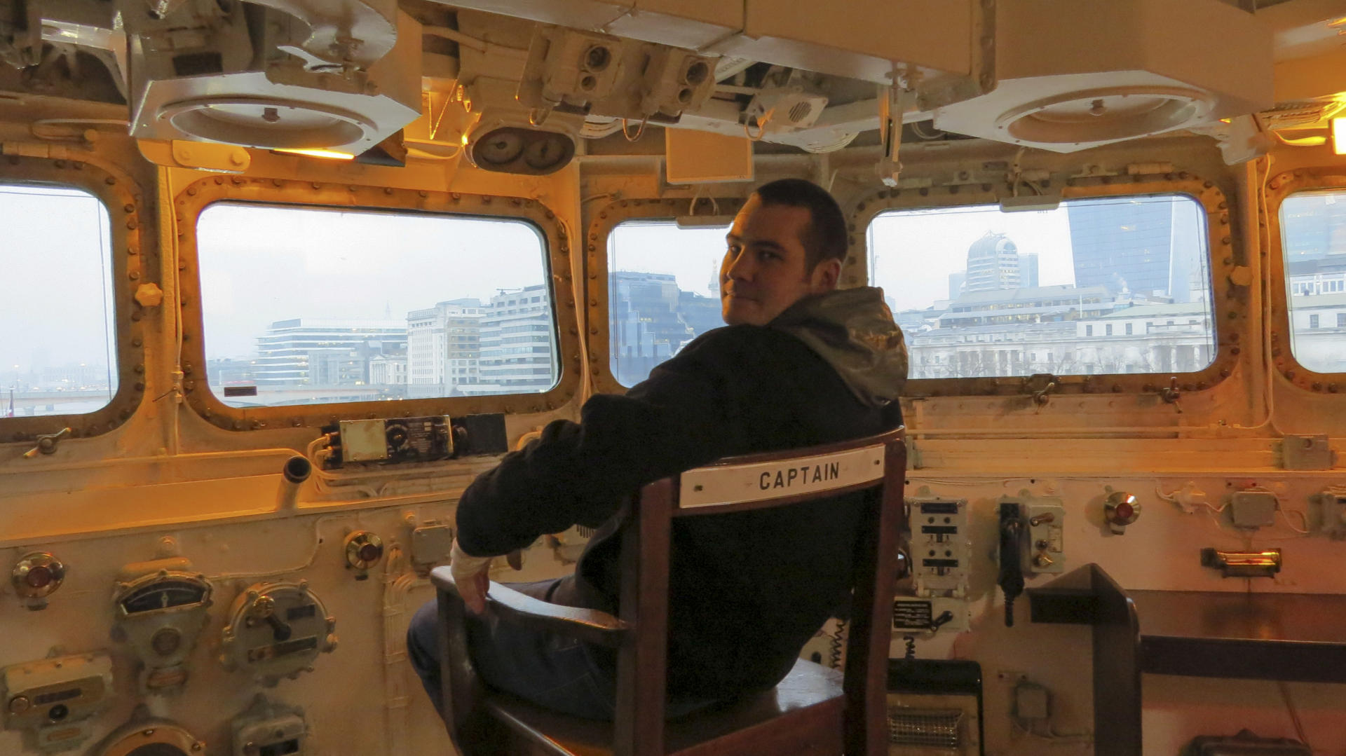 HMS Belfast Captain's Chair