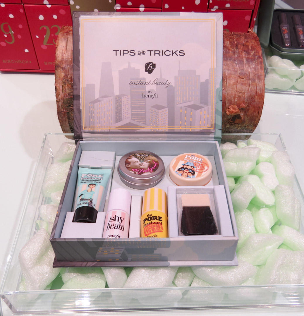 Benefit tips and tricks beauty box gift set