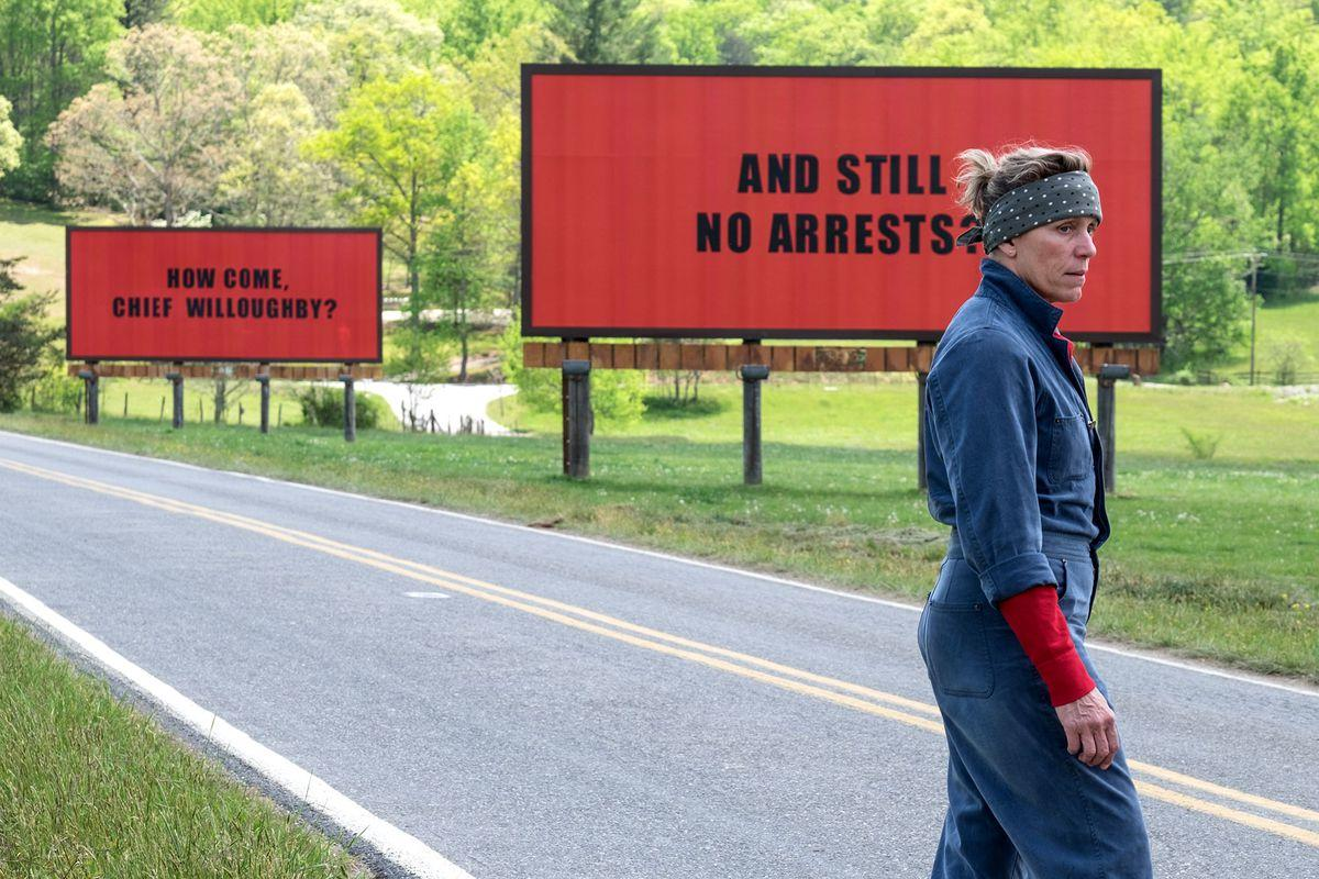 Mildred Hayes Three Billboards